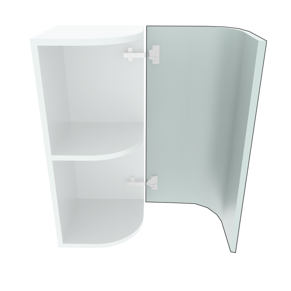 715mm High Curved Door (R=288mm)