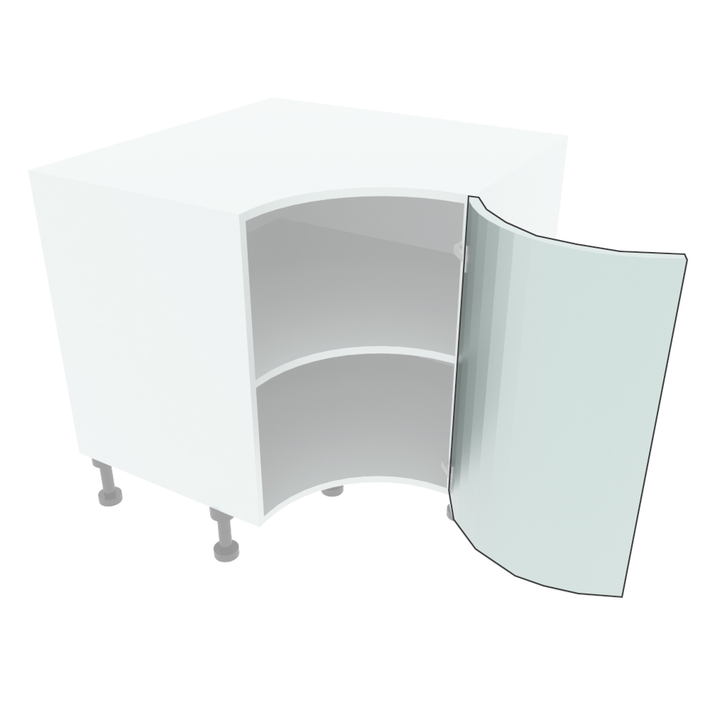 715mm High Internal Curved Door (R=290mm)