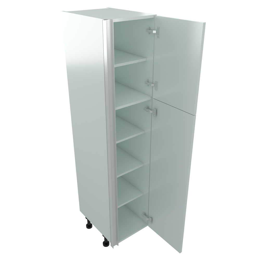 400mm True Handleless Larder Unit - RH Hinge (Low)