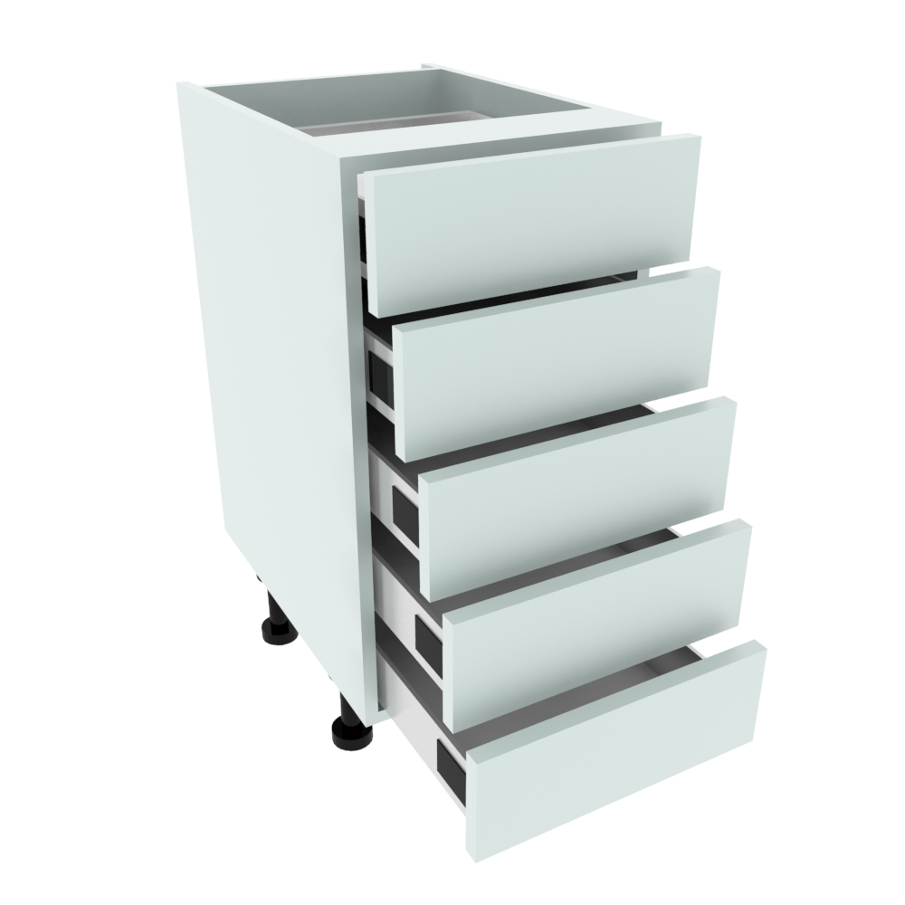400mm 5 Drawer Base Unit