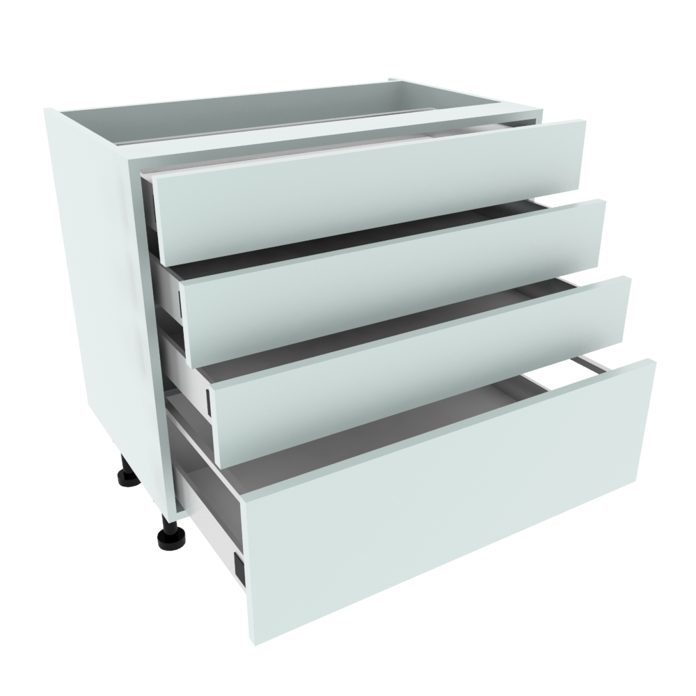 900mm 3+1 Pan Drawer Base Unit