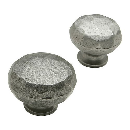 Cromwell Knob - Hammered Cast Iron - Various Sizes