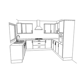 15 Unit Kitchen