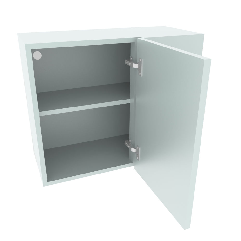 700mm Standard Corner Wall Unit - 400mm LH Door (Low)