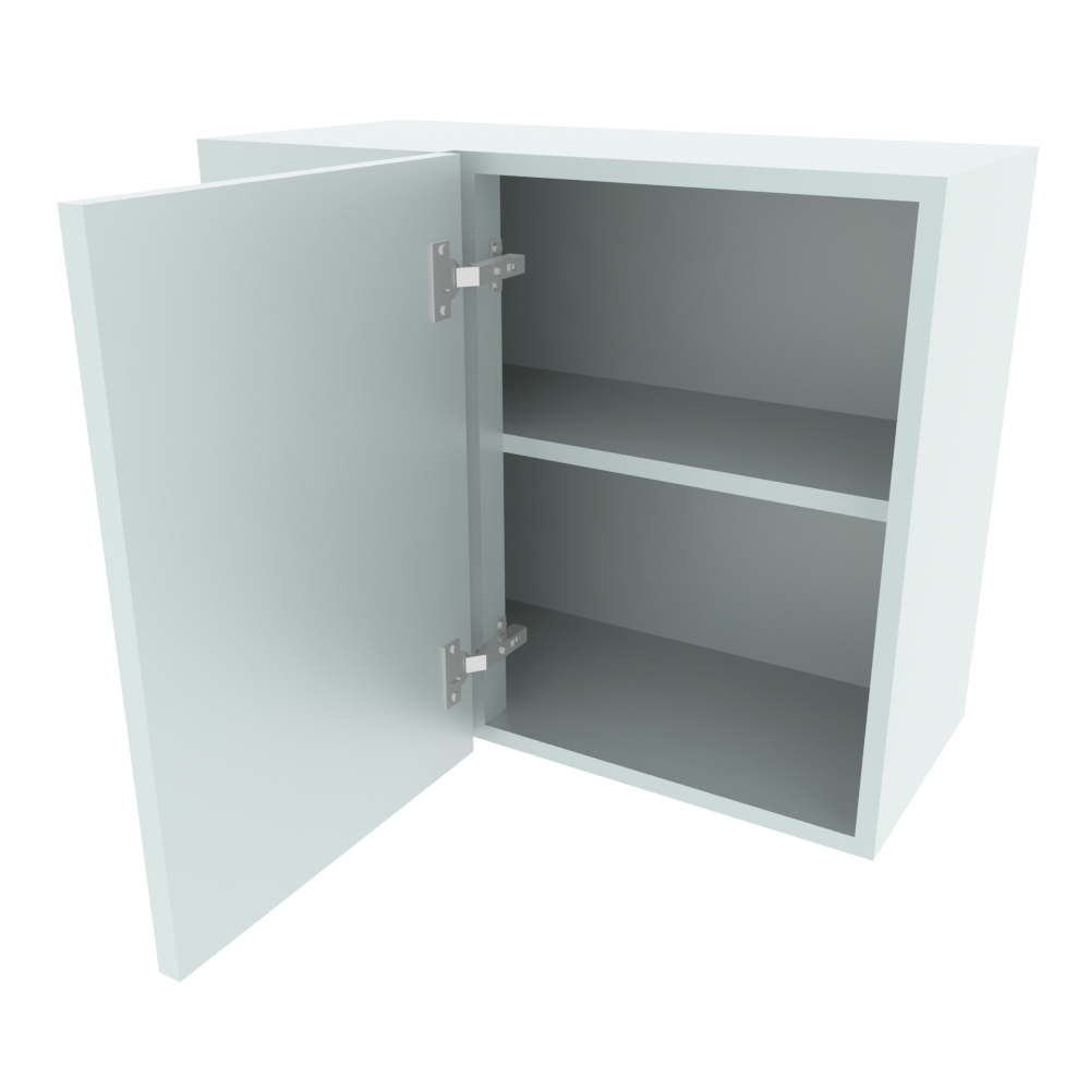 700mm Standard Corner Wall Unit - 400mm RH Door (Low)