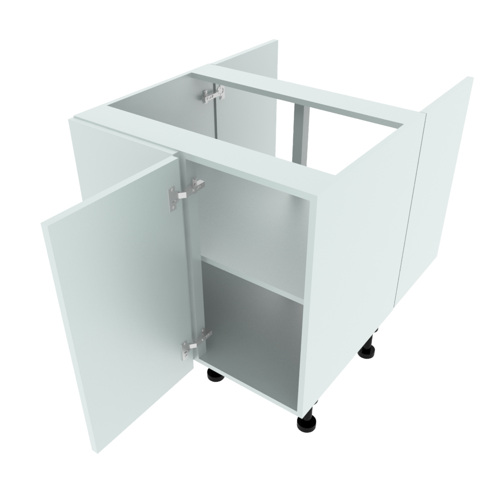 800mm Highline Peninsular Corner Base Unit - 400mm RH Hand Door