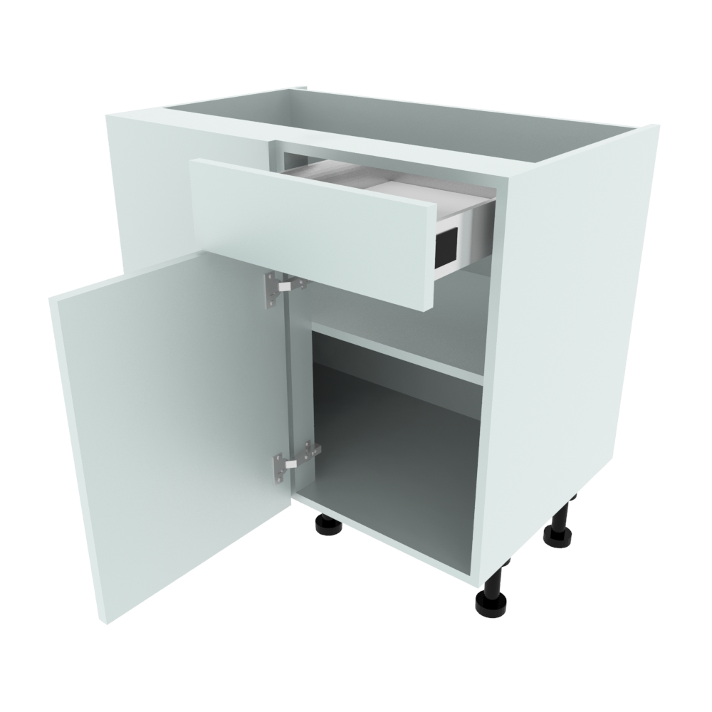 900mm Drawerline Corner Base Unit - 450mm RH Hand Door