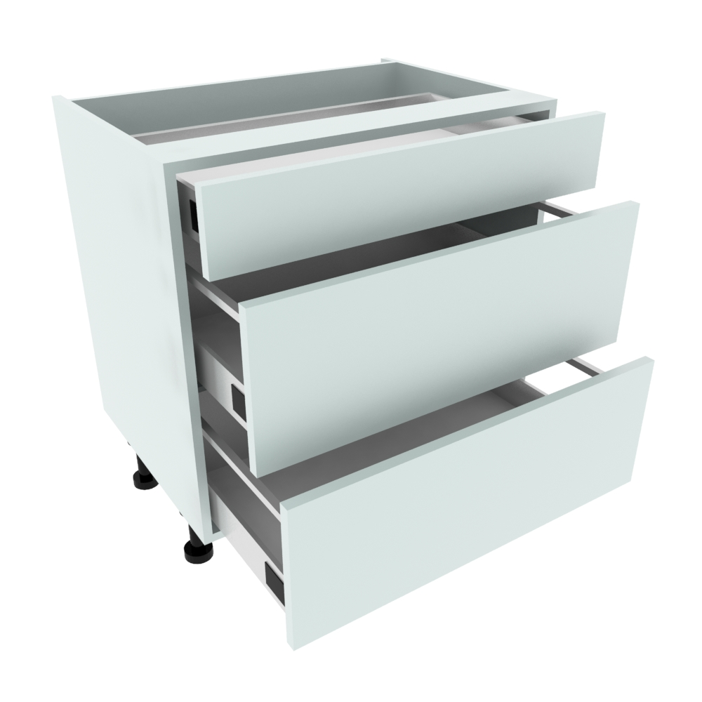 800mm 3 Drawer Base Unit