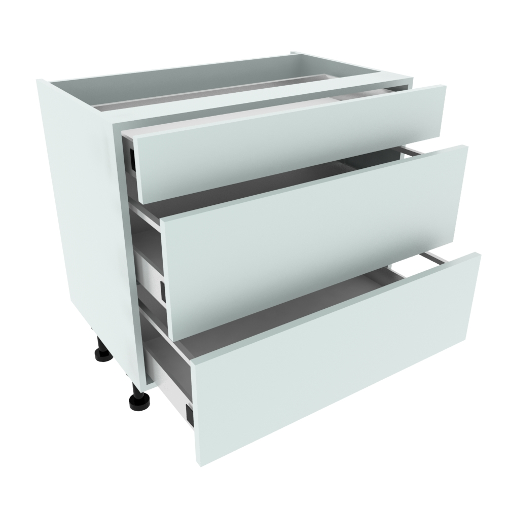900mm 3 Drawer Base Unit