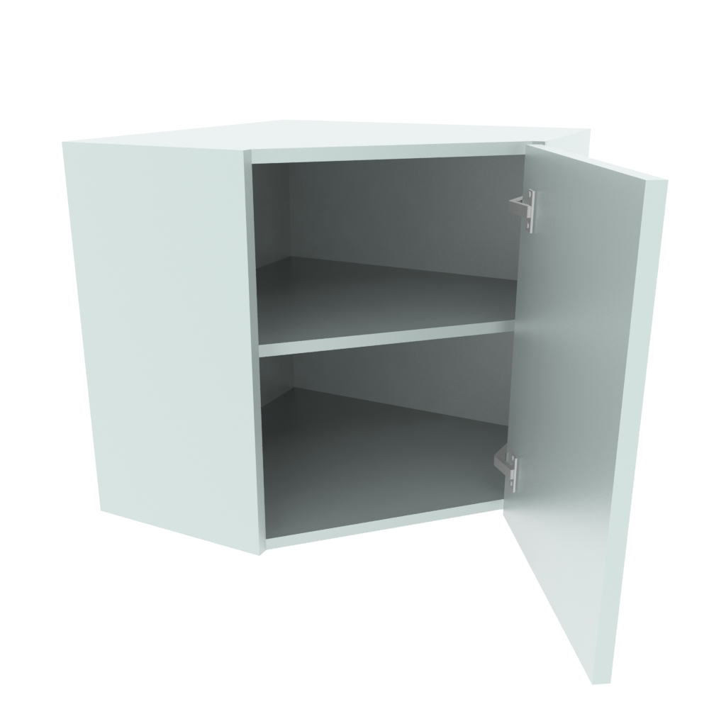 600 x 600mm Diagonal Corner Wall Unit (Low)