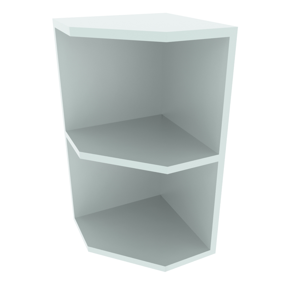 300mm Open End Wall Unit - LH (Low)