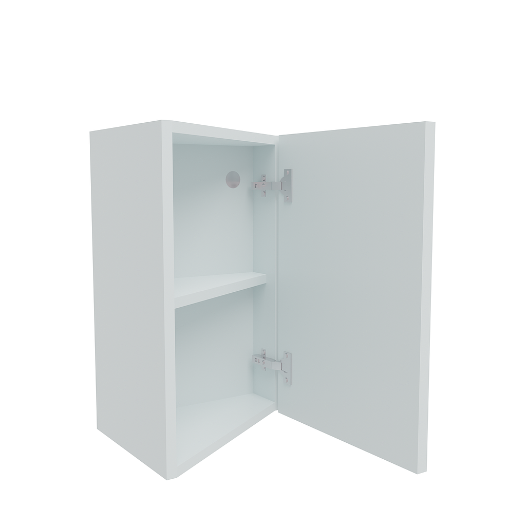 370mm Splay End Wall Unit - Right End (Low)