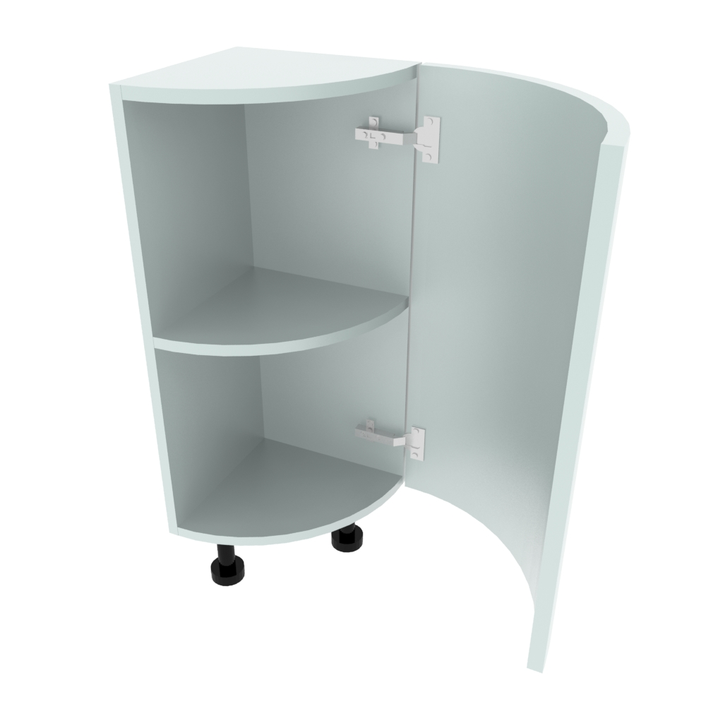 Curved Base Unit - 300 x 300mm - (R=288mm) (Right End)
