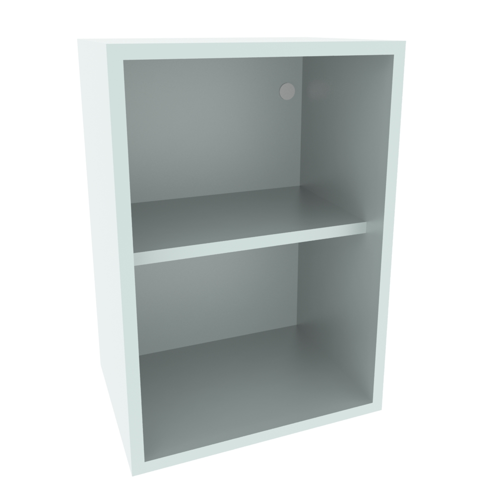 400mm Wall Open Display Unit (Low)