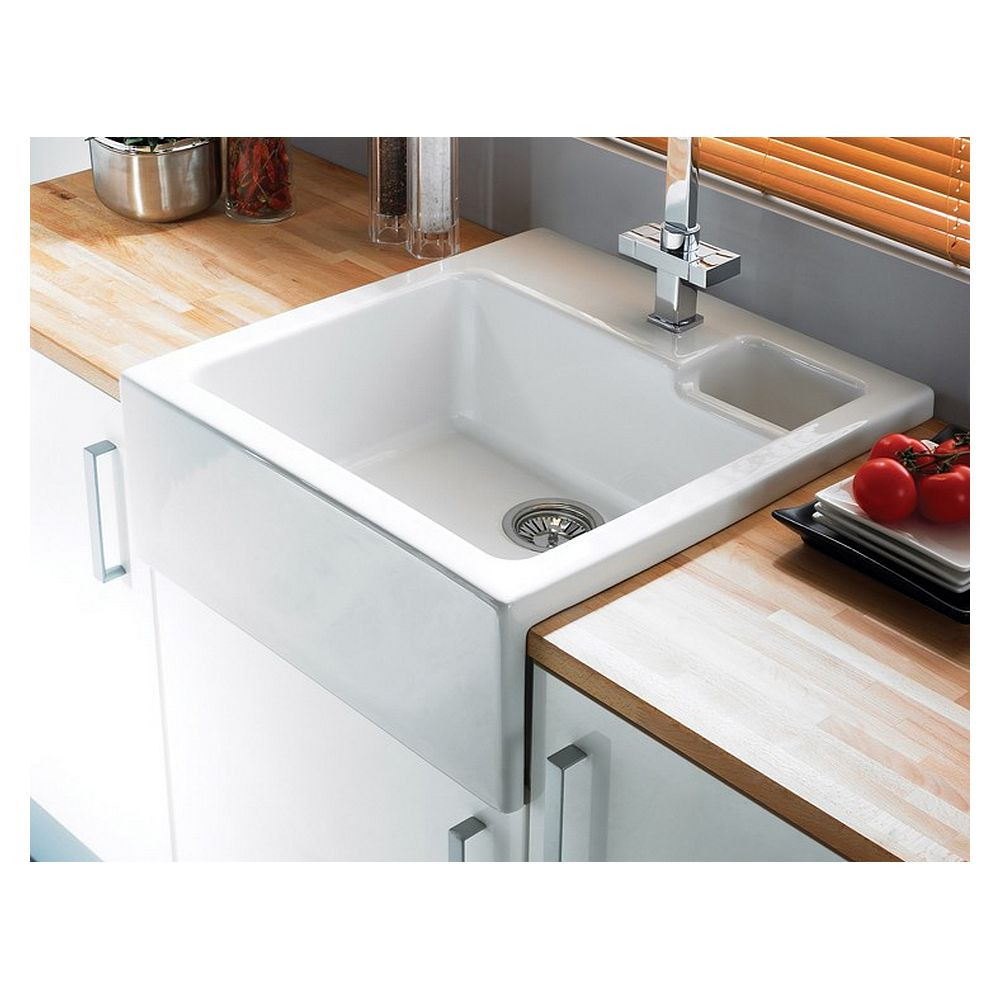 Kitchen Worktops And Sinks: 1.5 Bowl (Suitable For Laminate